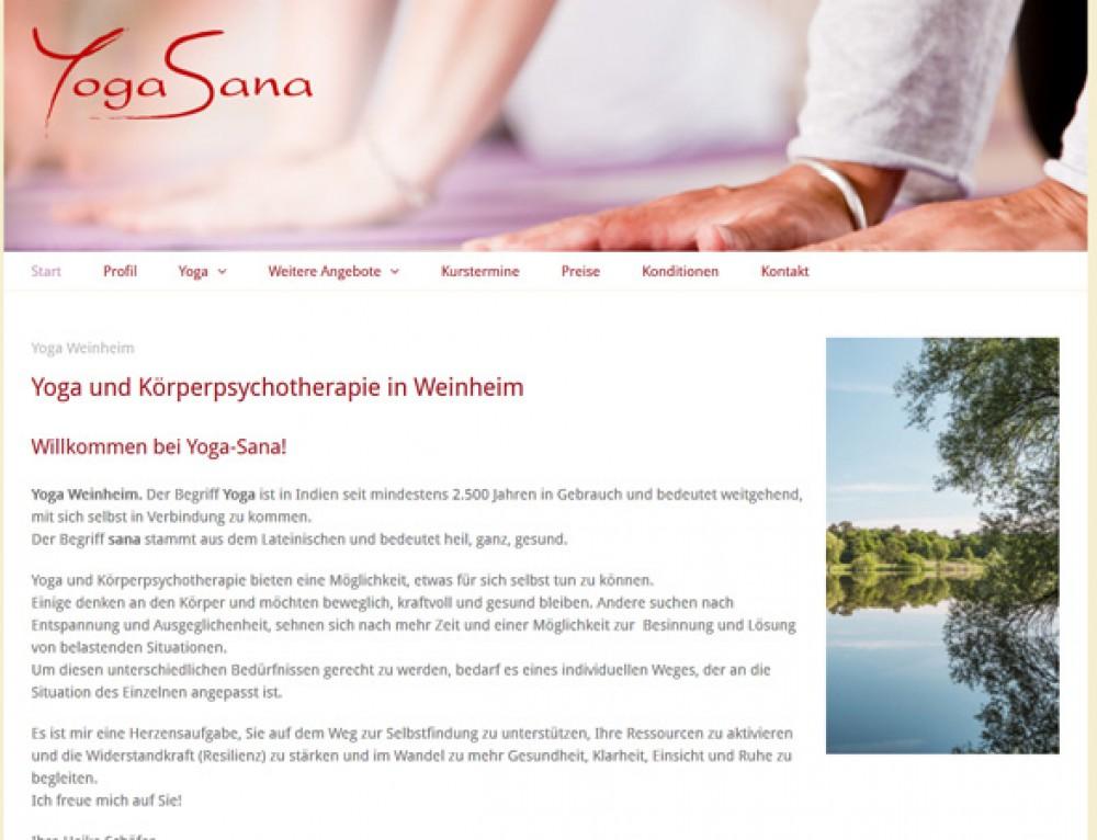 Heike Schäfer – Yogasana (Heilpraktikerin, Yogalehrerin)