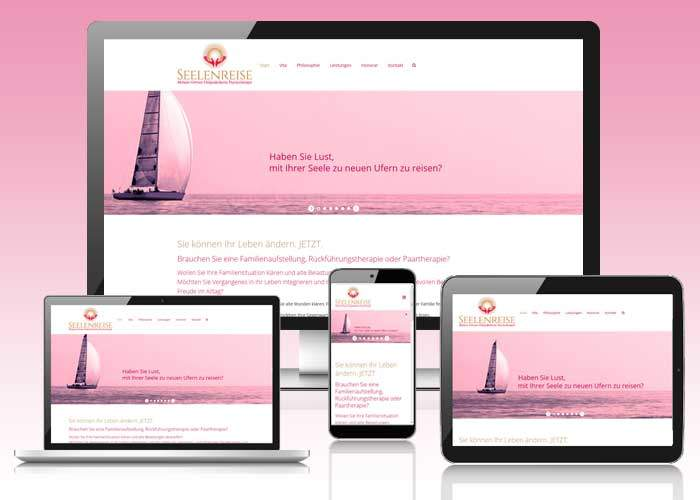 spirituelles webdesign