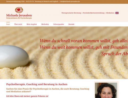 Michaela Jerusalem, Heilpraktikerin für Psychotherapie