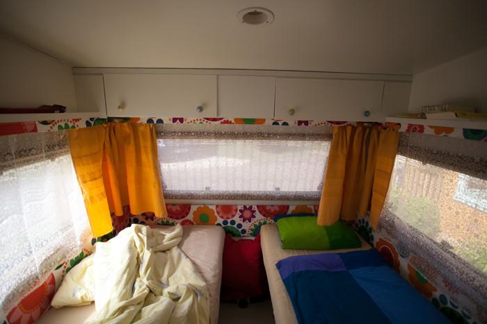 wie ich einen 30 jahre alten hobby wohnwagen aufgeh bscht habe. Black Bedroom Furniture Sets. Home Design Ideas
