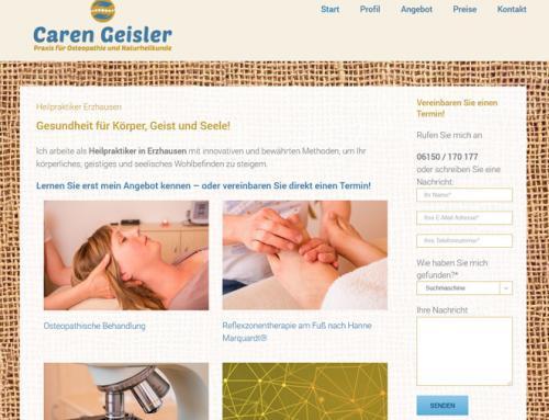 Caren Geisler, Heilpraktikerin Erzhausen
